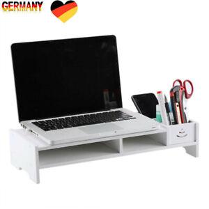 Monitorständer Schreibtischaufsatz Monitorerhöhung Bildschirm Aufsatz TV Ständer