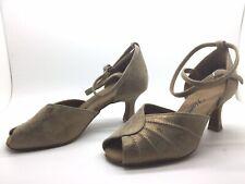 Chaussure de danse de salon pour femme:diamant couleur: or taille:34,5