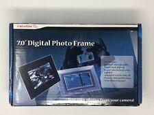 "NEW Nectar 7"" Black LCD Widescreen Digital Video Photo Frame MP3 Player N7-102"