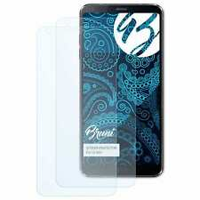 Bruni 2x Lámina Protectora para LG G6+ Película Protectora