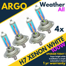 4x H7 Bright Xenon Effect All Weather White Car Headlight Headlamp Hid Bulbs 12v