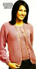Women's Twin Set Crochet PATTERN