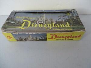 1965 Donruss Disneyland Empty Box