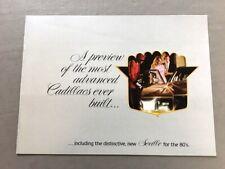 1980 Cadillac 16-page Car Sales Brochure - Fleetwood Seville Eldorado Deville