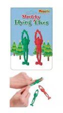 Elfos de Navidad Diversión Elástico Volar Niños Stocking Relleno Bolsa Fiesta Juguete Catapulta