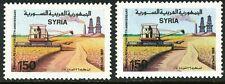 SYRIEN 1989 26. Jahrestag der März-Revolution 150 P Landwirtschaft postfr. ABART