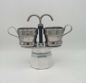 New Bialetti Mini Express 2 Cup Espresso Moka Pot
