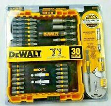 DeWALT 30 PC. SCREWDRIVING BIT SET Magnetic Screw Lock Sleeve tip 219brcs5