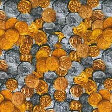 Pirates Treasures Fabric Pieces of Eight Buried Treasure - Per 1/4 Metre