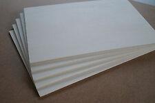 Sperrholz Pappel 4mm DIN A 3 ,Basteln,Laubsägearbeiten,Modellbau,Werken 5 Stück