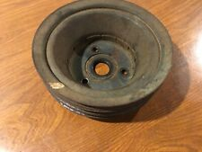 Small Block Chevy Crankshaft Triple Groove Pulley Camaro Chevelle Corvette Nova