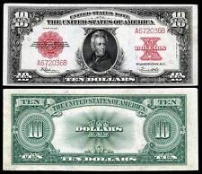NICE CRISP UNC 1923 $10.00 U.S. BANKNOTE  COPY NOTE! READ DESCRIPTION