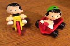 Bobby Bobby's World Lot Of 2 Toys Wagon Trike Bike Moveable