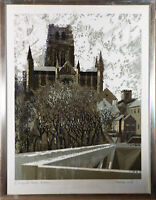 Norman Wade - 1971 Silkscreen, Durham Cathedral