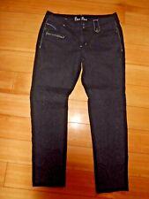 New Bisou Bisou Women's Black Skinny Slim Jeans Size 12 23x28