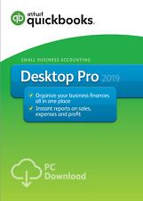 QuickBooks Desktop Pro 2019 Download + CD INTUIT PREMIER RESELLER