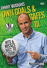 Johnny Vaughan's Own Goals And Gaffs - Hits And Misses (DVD, 2010)