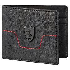 Puma Ferrari Bifold Wallet - Black