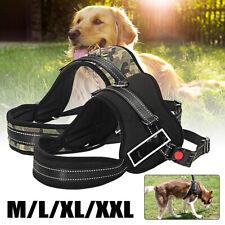 Adjustable No-pull Dog Harness Outdoor Adventure Pet Vest Padded Handle M L
