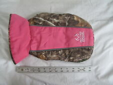 Realtree Edge Camo Dog Jacket Small Pink Coat Fleece Reflective Washable