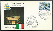 1984 VATICANO VIAGGI DEL PAPA MILANO  - SV