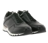CAPRICE Echtleder-Sneaker komfortable Low Top Schuhe Freizeitschuhe Schwarz
