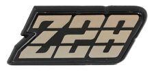 1980 - 1981 CAMARO Z28 REAR FUEL DOOR TAIL LIGHT PANEL EMBLEM - 3 COLOR - GOLD -