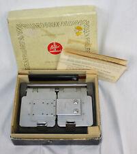 Vtg Bolex Paillard Trifilm Splicer Film Movie Maker 50s 16mm 8mm 9.5mm Box