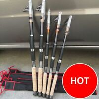 2.1M-3.6M Portable Fishing Rod Spinning Tackle Foldable Carrying Fish Tools