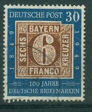 Bund 115 I gestempelt - 100 Jahre deutsche Briefmarken