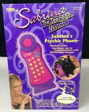 NEW Sabrina The Teenage Witch Sabrina's Psychic Phone 1998 Tiger Electronics