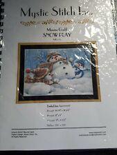Cross stitch chart only Snowman