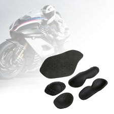 5Pcs Motorcycle Riding Armour Shoulder Elbow Back Protector Pad Set Racing Guard