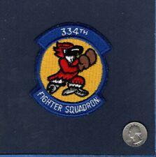 Original 334th TFS USAF F-4 PHANTOM ERA Fighter Squadron Patch