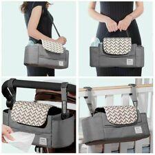 Portable Diaper Bag Stroller Bag Organizer High Capacity Baby Nappy Bag