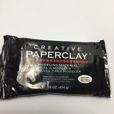 Creative Paperclay Modeling Material 16 oz Pack/Brick - Natural White Color
