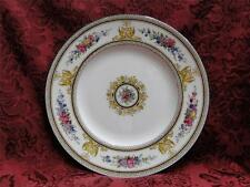 """Wedgwood Columbia, White, Medallion, Green Trim: Luncheon Plate (s), 8 7/8"""""""