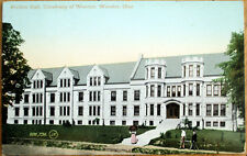 1909 Wooster, OH Postcard w/RPO Postmark: Holden Hall, Univewrsity of Wooster