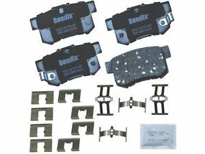 Rear Brake Pad Set 2KTZ18 for CL CSX EL ILX Integra Legend RSX TL TSX Vigor 1987