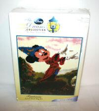 NEW DISNEY Dreams Collection Thomas Kinkade Mickey Fantasia Latch Hook Rug Kit