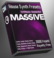 House 20,000 NI Massive Synth Presets - LOGIC ABLETON FL STUDIO Cubase Logic Pro