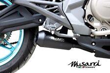 Musarri Black GP Street Series slipon Muffler CF Moto 650 NKS 2012 -  2015