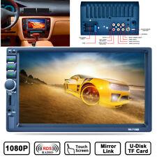 Touchscreen 1080P 2Din TFT Bluetooth Auto Monitor Radio FM/AM für Rückfahrkamera