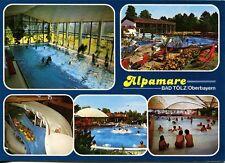 Alte Postkarte - Alpamare Bad Tölz/Oberbayern