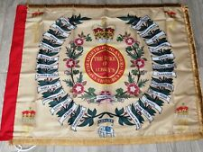 The Seaforth Highlanders 1st Battalion Regimental colours flag