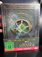Doctor Strange 3D/2D Blu-ray SteelBook [Germany] Exclusive New Sealed Marvel