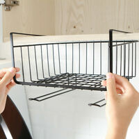 Kitchen Storage Bin Under Shelf Wire Rack Cabinet Basket Organizer Holder Stand
