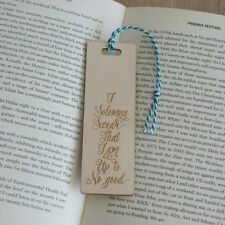 Harry Potter I solemnly swear that I am up to no good quote wooden bookmark L187