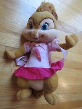"""ALVIN AND THE CHIPMUNKS BRITTANY 18"""" PLUSH BACKPACK"""