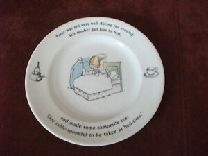 Peter Rabbit Kinderteller Schale Wedgwood Porzellan 17,5 cm